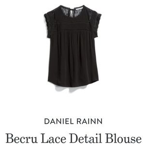 Daniel Rainn Becru Lace top sz M